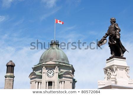 Edad oficina de correos Quebec ciudad centro de la ciudad Canadá Foto stock © aladin66