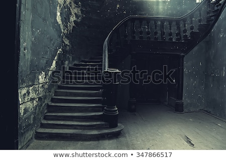 винтовая · лестница · современных · дома · Nice · здании - Сток-фото © konradbak