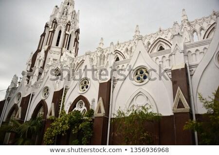 Saint Mary's Basilica in Bangalore. Stock photo © Klodien