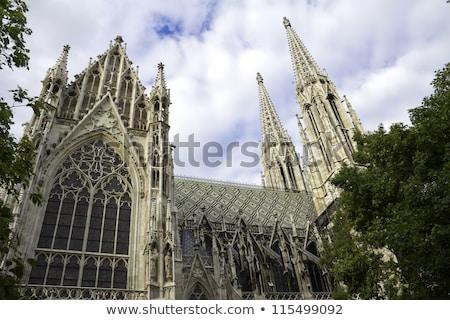 Vienna, Austria - famous Votivkirche ,Votive Church Stock photo © bloodua