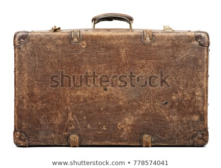 stack of vintage suitcases Stock photo © epstock