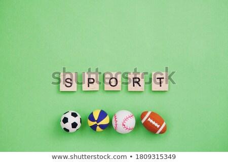 Pénz játszik játékok esély kéz zöld Stock fotó © OleksandrO