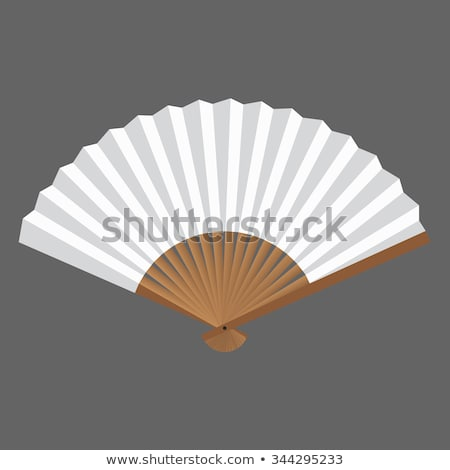 close chinese traditional folding fan stock photo © dezign56