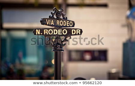 Rodeo Drive sign Stock photo © nito