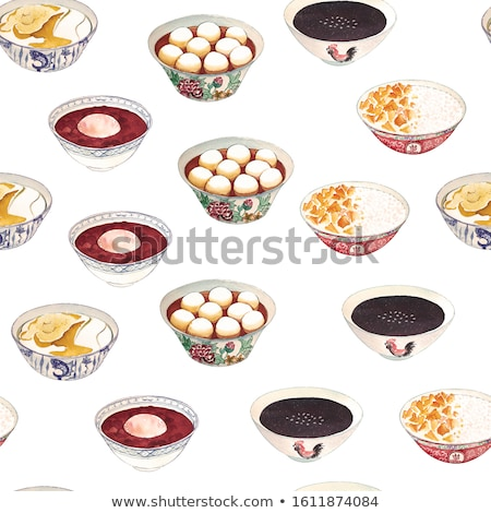 Gergelim sobremesa alimentação branco comer grão Foto stock © siavramova