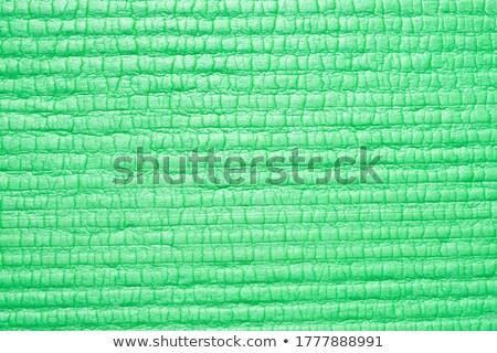Green halftone backgroun Stock photo © redshinestudio