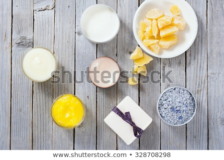 bath salts and other skin care products stock photo © barbaraneveu