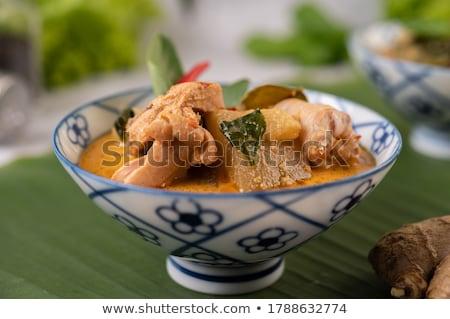 brocoli · glace · isolé · blanche · alimentaire · résumé - photo stock © fisher