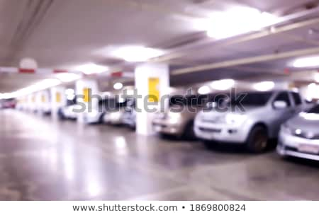 Blurred abstract background of urban public garage Stock photo © stevanovicigor