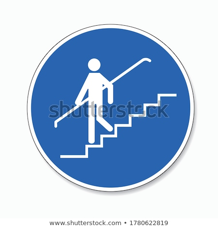 Use this way to upstairs. Stock photo © stockyimages