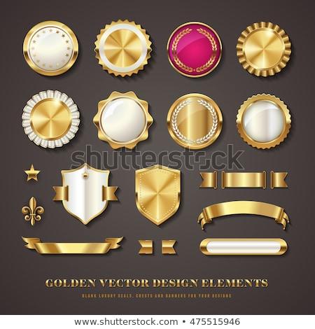 Medal Pink Vector Button Icon Stock photo © rizwanali3d