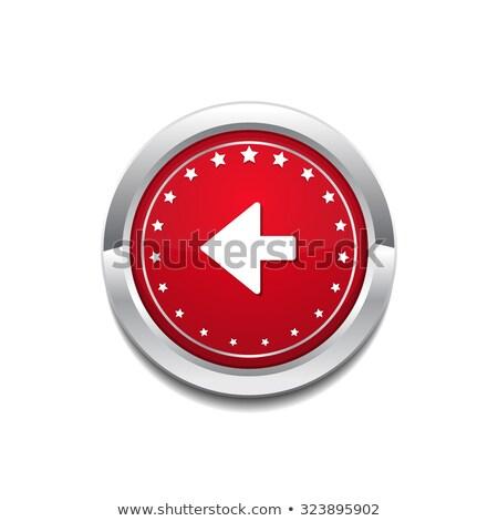 Sleutel vector Rood web icon knop Stockfoto © rizwanali3d