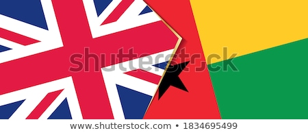 United Kingdom and Guinea-Bissau Flags Stock photo © Istanbul2009