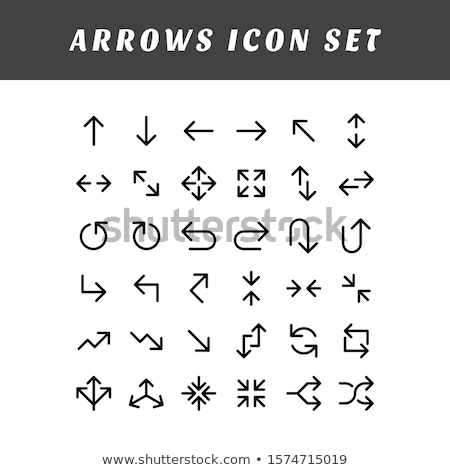 Doodle UP Arrow icon. Stock photo © pakete
