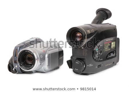 Zdjęcia stock: Analog · wideo · kamery · film · czarny · cyfrowe