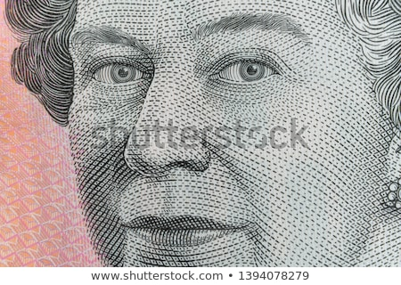Queen Elizabeth II portrait on 5 pound sterling banknote Stock photo © photocreo