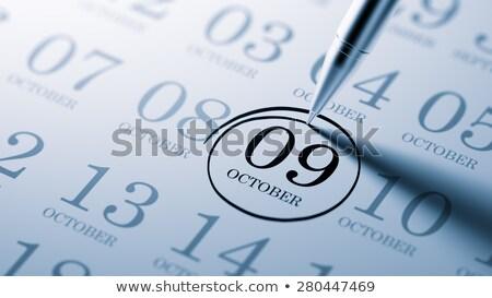 9th October Stock photo © Oakozhan