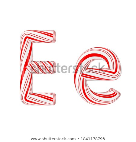 colorful striped letters stock photo © cidepix