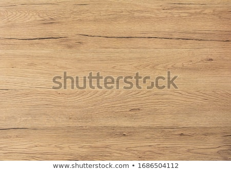 Stock photo: Old knotted oak plank surface