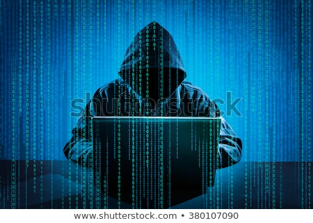 hacker using laptop stock photo © wavebreak_media
