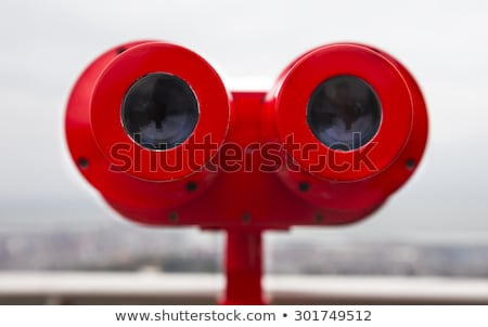 Red binocular Stock photo © joyr