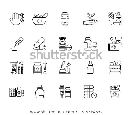 Phytotherapy Icon. Flat Design. Stock photo © WaD