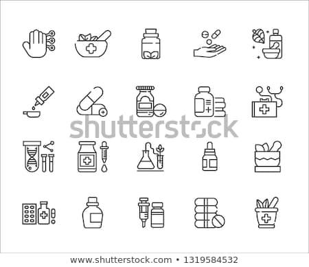 icon · ontwerp · bladeren · geïsoleerd · natuur - stockfoto © wad