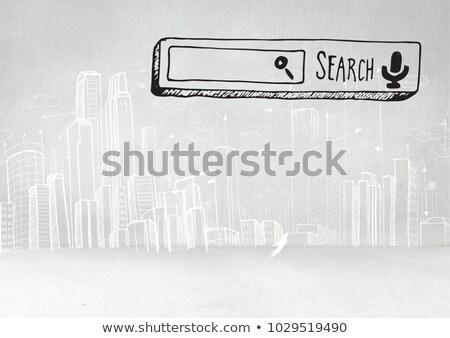 3D · üzlet · növekedés · oszlopdiagram · illusztráció · kék - stock fotó © wavebreak_media