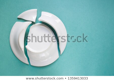Broken ceramic plate Stock photo © Taigi