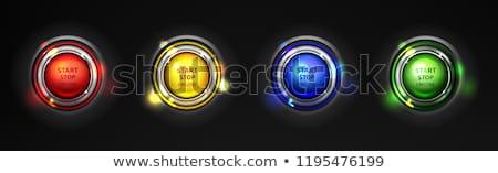 Différent électrique boutons 3D électriques Photo stock © kup1984
