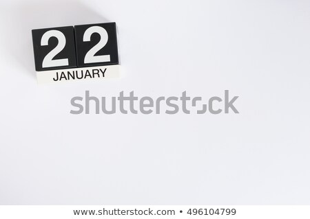 cubes 22nd january stock photo © oakozhan
