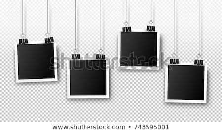 Azonnali fotó átlátszó árnyékok eps 10 Stock fotó © limbi007