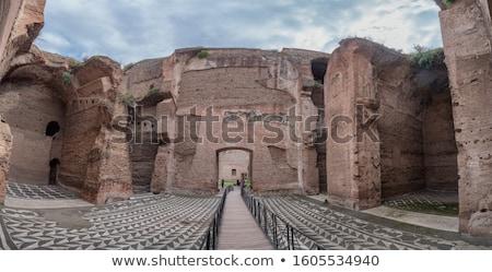 Roma colina Italia edificio piedra bano Foto stock © alessandro0770