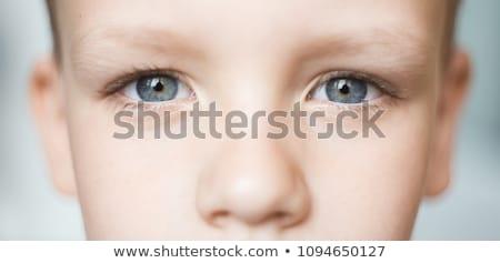 Baba szem közelkép lány gyermek szín Stock fotó © IS2