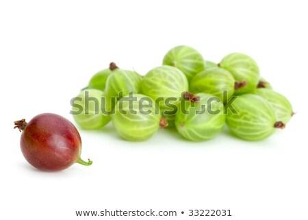 groene · een · Rood · alleen · geïsoleerd - stockfoto © digitalr
