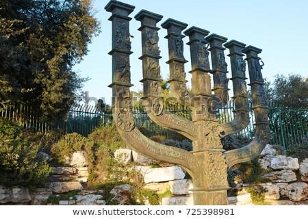 israëlisch · Jeruzalem · jas · armen · teken · architectuur - stockfoto © Zhukow