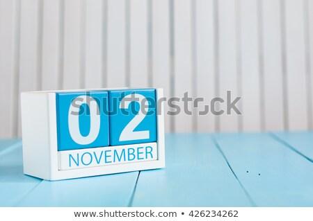 Cubes 2nd November Stock photo © Oakozhan