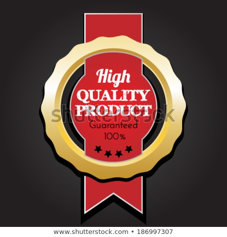 highest rated star label vector Stock photo © SArts