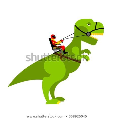 динозавр · изображение · жизни · небе · история · декораций - Сток-фото © popaukropa