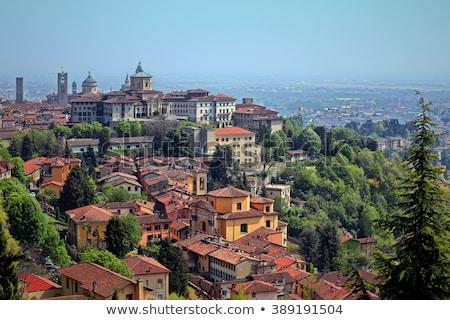 старый город древних город Италия мнение зданий Сток-фото © kasto