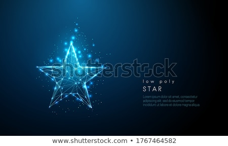 geometric modern star rating symbol design Stock photo © SArts