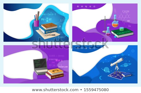 Mathematics Algebra Geometry and Astronomy Classes Stock photo © robuart