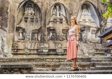 starożytnych · kamień · świątyni · królewski · bali · Indonezja - zdjęcia stock © galitskaya