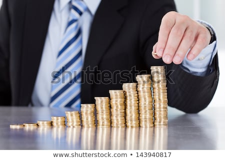 golden · Bank · Geld · Symbol · isoliert · Haus - stock foto © sonia_ai