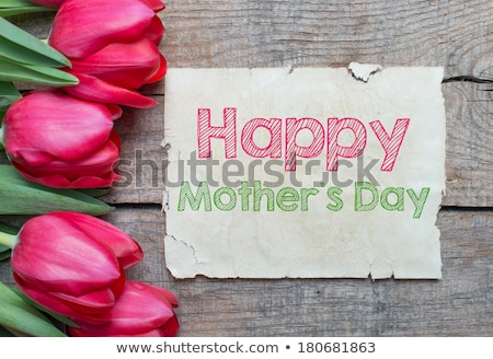mother's day decorative label with text space Stock photo © SArts
