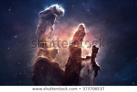 Galaxy in deep space, glowing mysterious universe. Stock photo © NASA_images