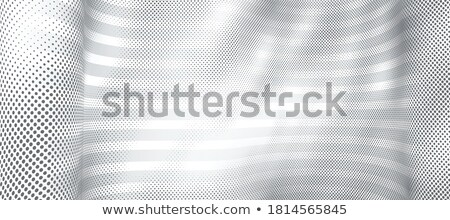 elegant white background with particles wave design Stock photo © SArts