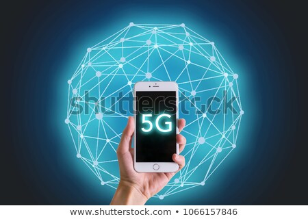 5th generation internet wireless technology digital background Stock photo © SArts