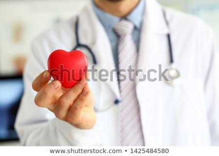 Cardiovasculaire ziekte menselijke hartaanval pijn anatomie Stockfoto © Lightsource