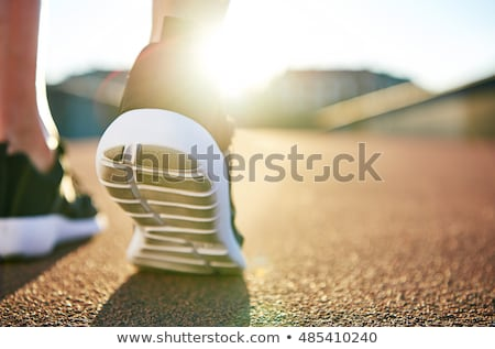 Close Up Of Woman's Ankle Stock photo © AndreyPopov